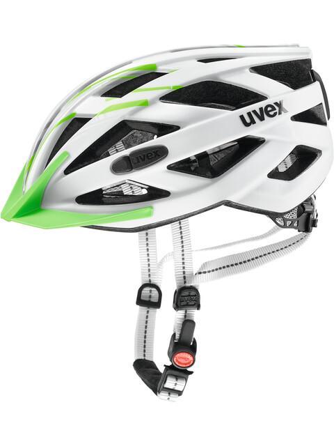 UVEX City I-VO Helmet white-green matt